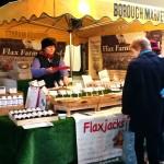 Borough Market Flax Farm stall m