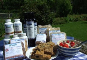 Flax Farm linseed food products