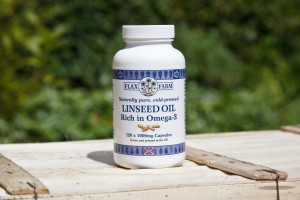 1000mg Linseed oil capsules (Flax seed)